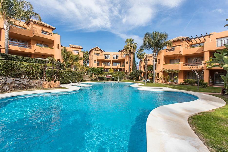 """Spacious and bright ground floor apartment, located in the community of """"El Retiro de Bel Air&q,Spain"""