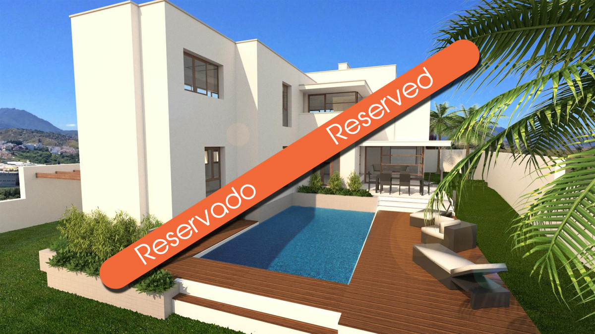 This modern detached villa is under construction and is estimated to be finished by around July 2018,Spain