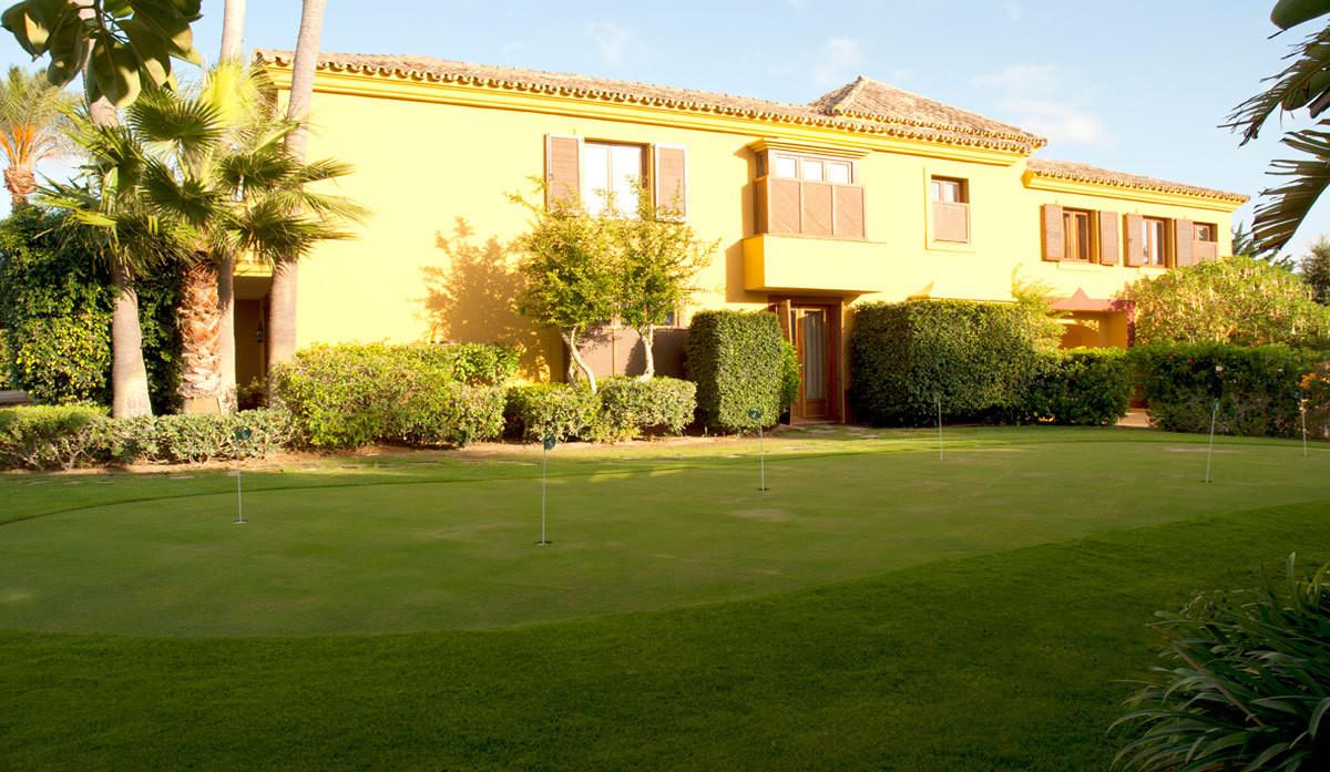 SOTOGRANDE:Magnific and luxury villa located in the fine complex of Sotogrande,  Las Margaritas, a b,Spain