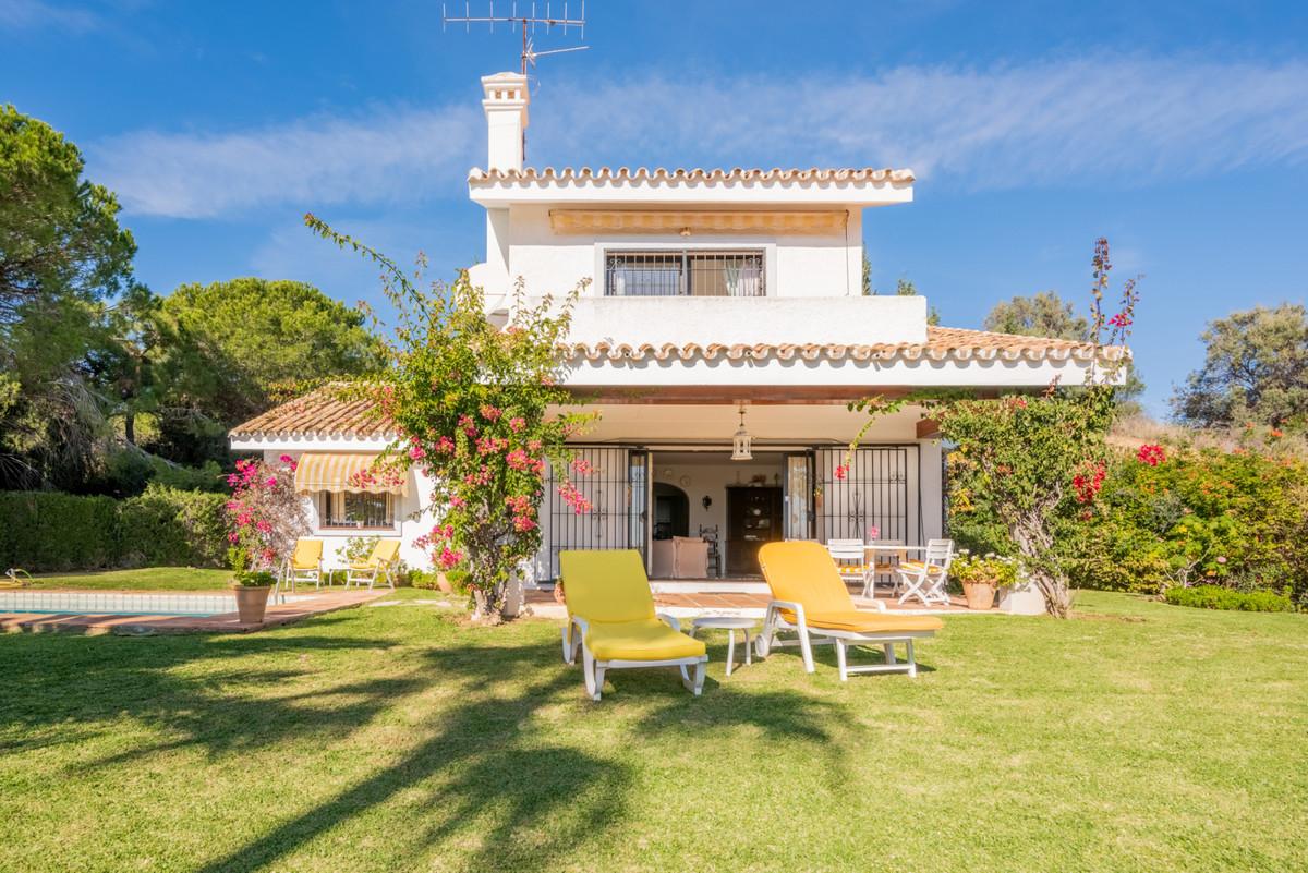 Detached Villa, Calahonda, Costa del Sol. This charming villa is located in a cul de sac bordering a,Spain