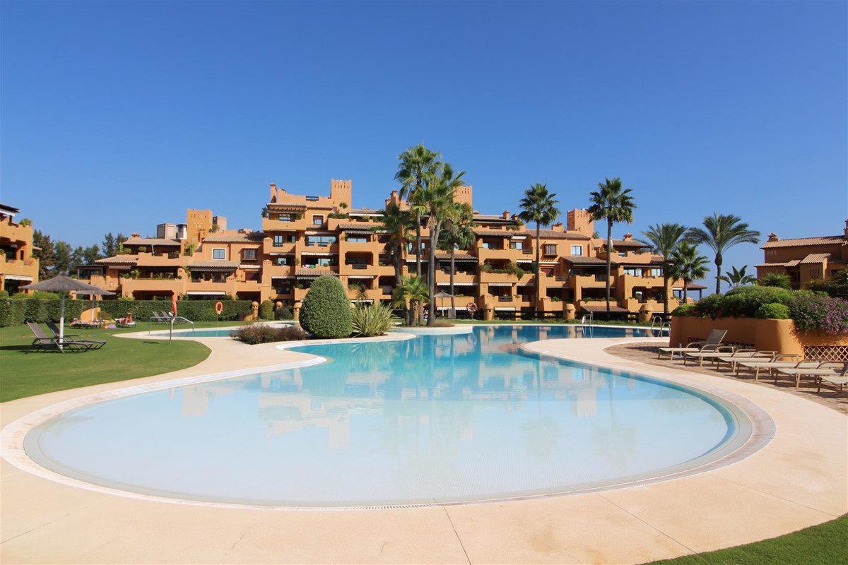 THE PROPERTY  LUXURIOUS FIRST LINE BEACH APARTMENT!!!!. Built with the highest qualities both within,Spain
