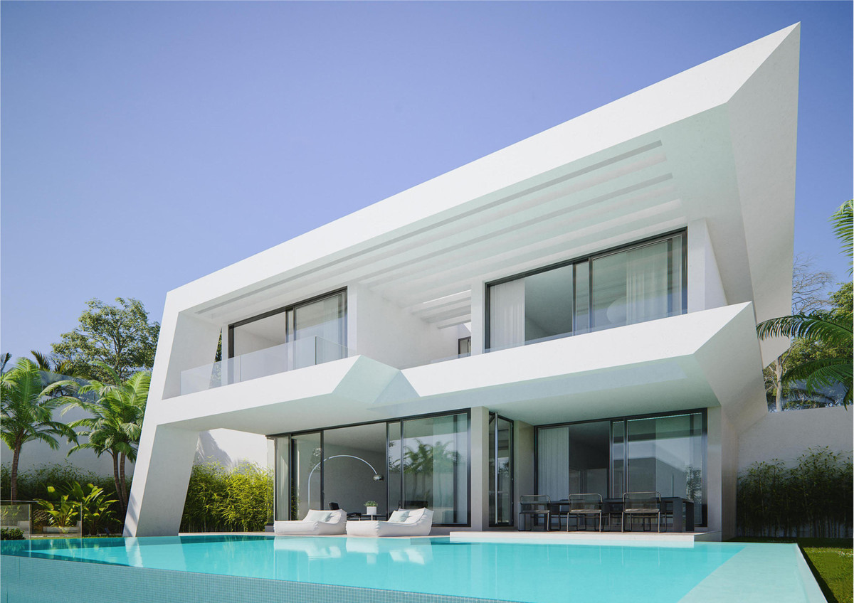 Have you dreamt of the ideal house...? Eagle Wings, an impressive project of 5 villas built with a u,Spain