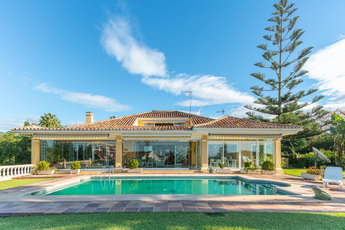 Superb mediterranean style villa, ideally located in central Las Cumbres, Elviria. Spacious and eleg,Spain