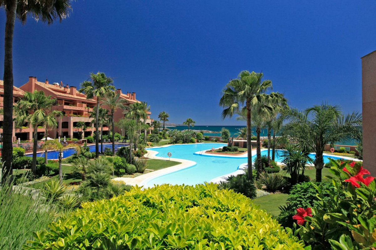 Front line beach complex in Puerto Banus..2 large bedroom with en suite bathrooms. Malibu is a very ,Spain