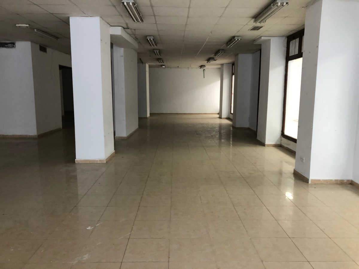 Large commercial premises in a busy street in central Marbella.    Ground floor premises with staff ,Spain