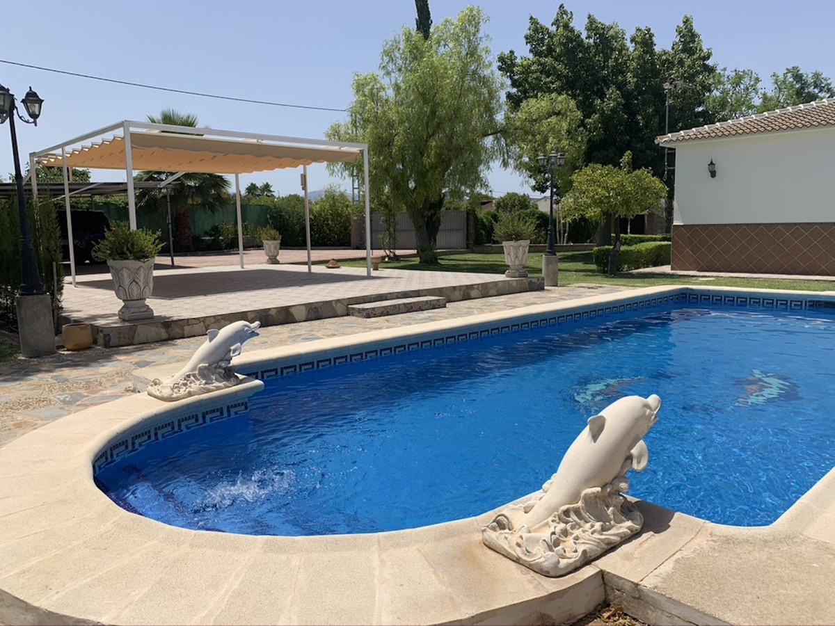 Finca - Cortijo, Alhaurin el Grande, Costa del Sol. 3 Bedrooms, 1 Bathroom, Built 140 m², Terrace 10,Spain