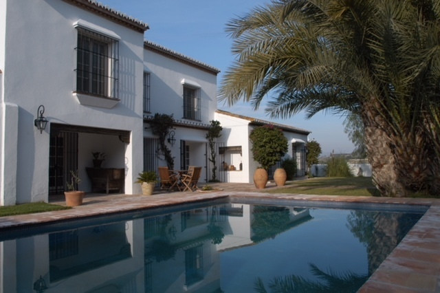 This beautiful finca with cortijo is built about 200 years ago by a wealthy landowner from Cartama. ,Spain
