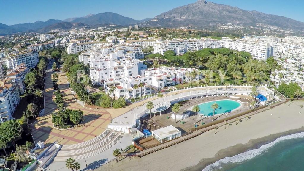 Beach front, 5 stars club Playas del Duque, in Puerto Banus, is Marbella and Costa del Sol's most pr,Spain
