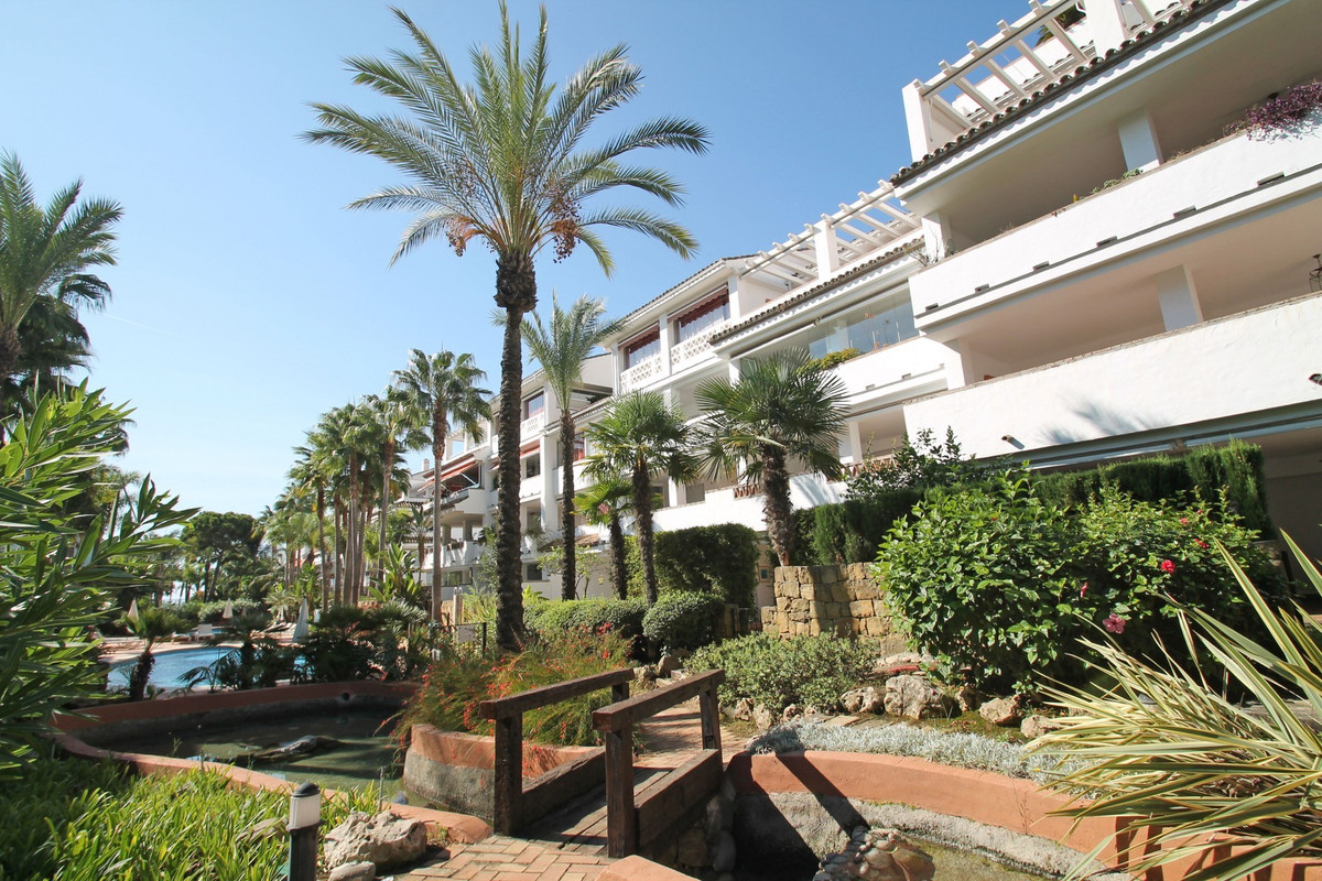 DIRECT ACCESS TO THE BEACH • BEACHFRONT COMPLEX • MARBELLA GOLDEN MILE • WITHIN WALKING DISTANCE TO ,Spain