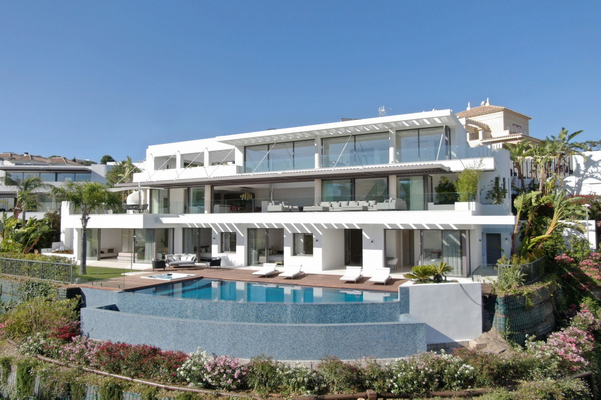 MARBELLA • VILLA MIRADOR • BRAND NEW • The ultimate in contemporary design. Five bedroom modern vill,Spain