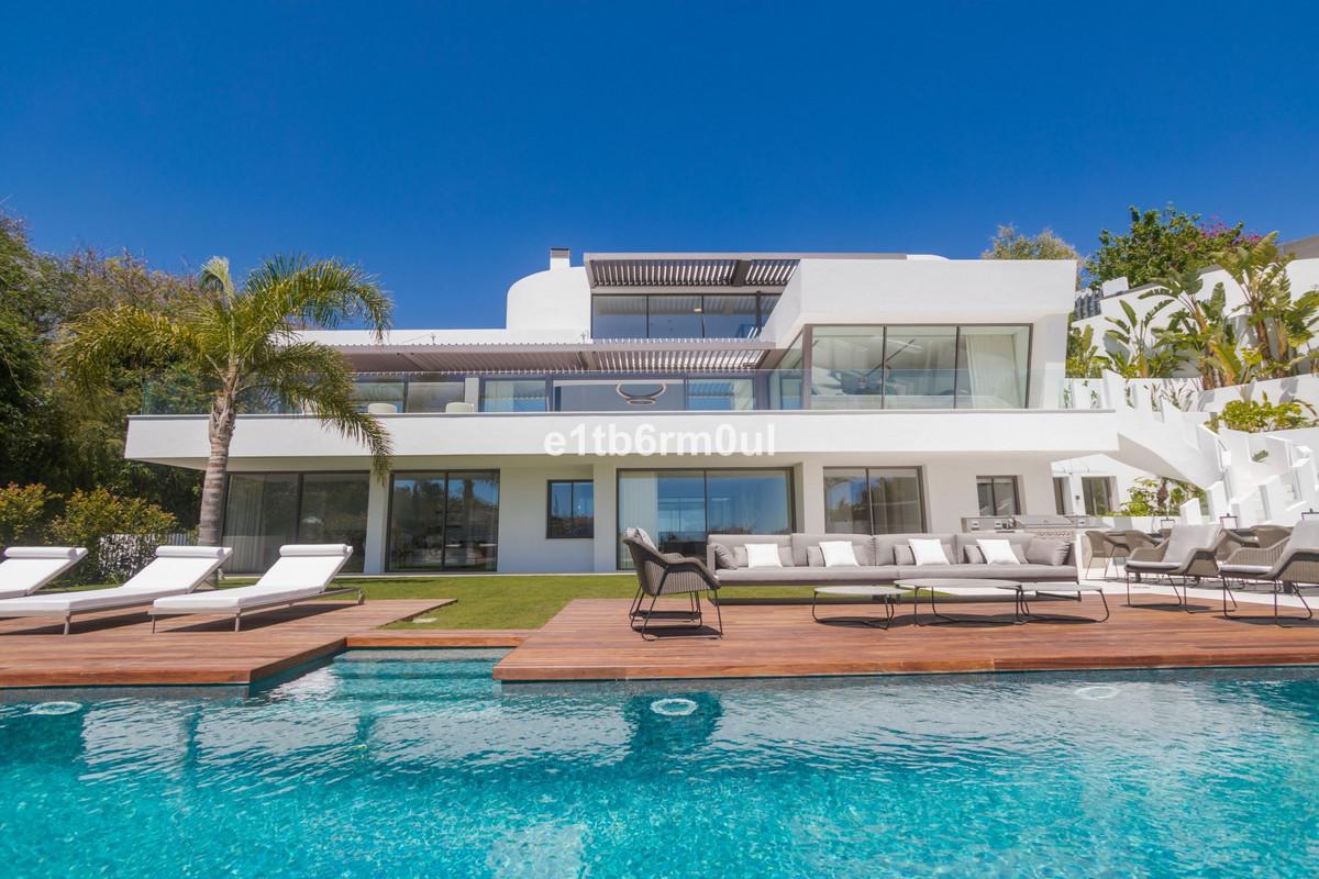 MARBELLA • VILLA BELVEDERE • CONTEMPORARY • Brand new villa with the best panoramic sea and golf vie,Spain