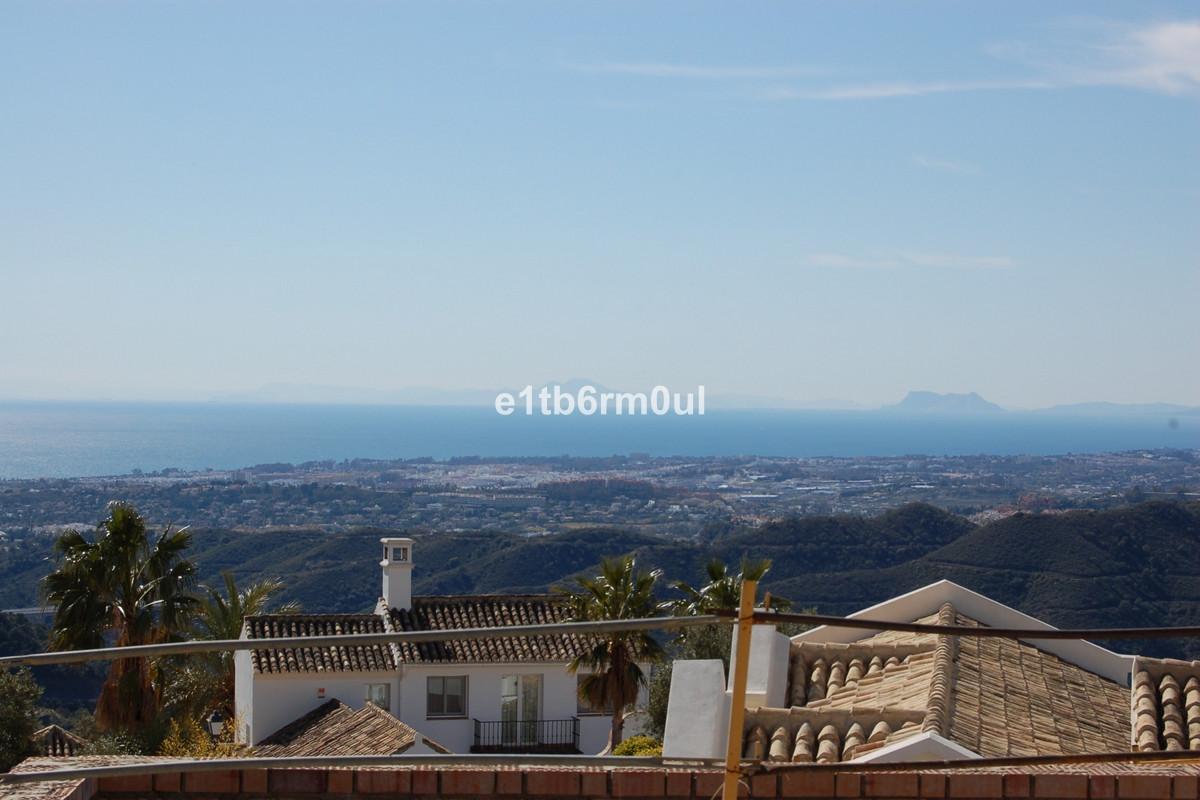 SEA VIEWS · South facing stunning half built villa in Sierra Blanca Country Club enjoying unobstruct,Spain