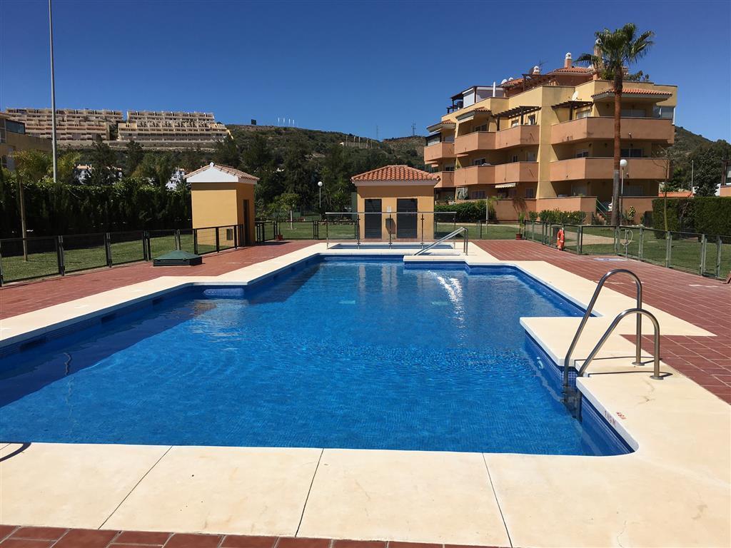 A very well located two bedroom apartment in a popular development in La Cala de Mijas, just 500 met,Spain