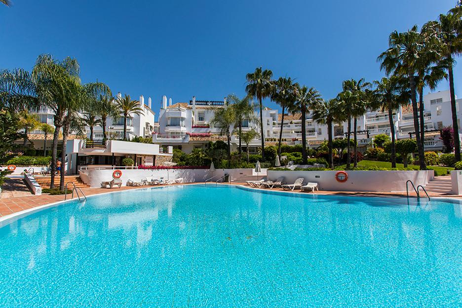 Refurbished apartment in White Pearl Beach in Elviria, East Marbella, offering two bedrooms, two bat,Spain