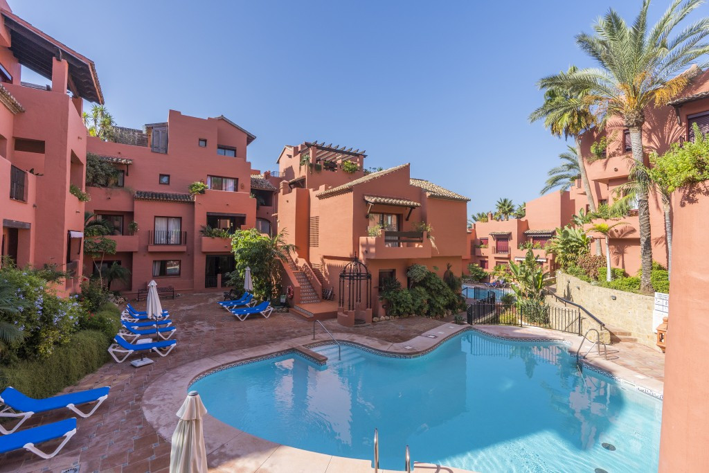 This stylishly refurbished three bedroom apartment is the perfect holiday home or ideal for all year,Spain