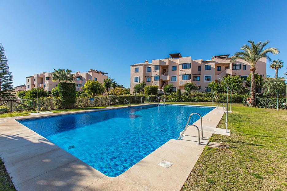 Bargain apartment in El Manantial de Santa Maria Golf in Elviria, East Marbella, with two bedrooms a,Spain