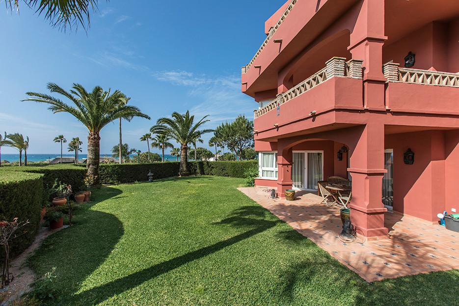 Apartament na parterze w Elviria R3436675