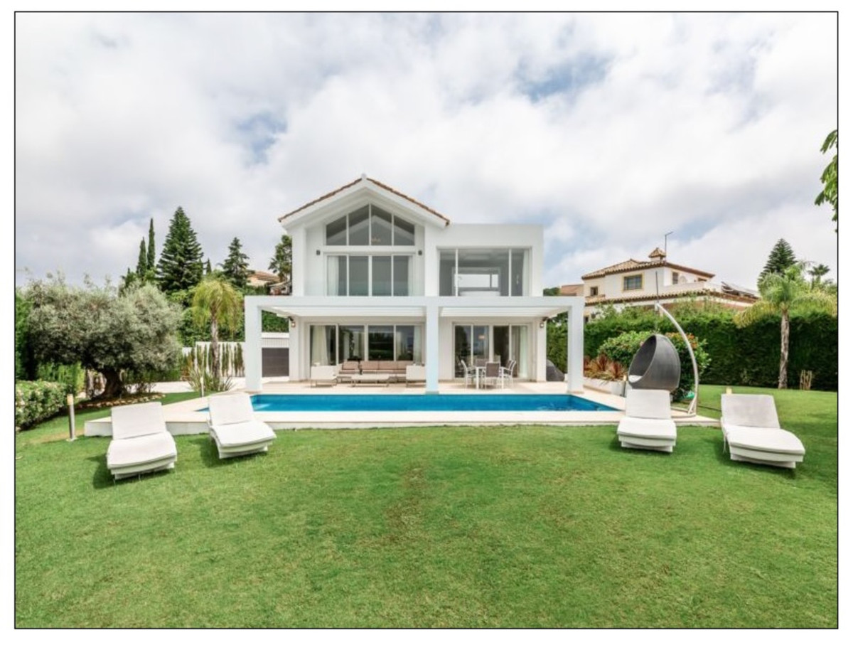 THE HOUSE  This contemporary villa will inspire you from the very first moment you enter the house. ,Spain