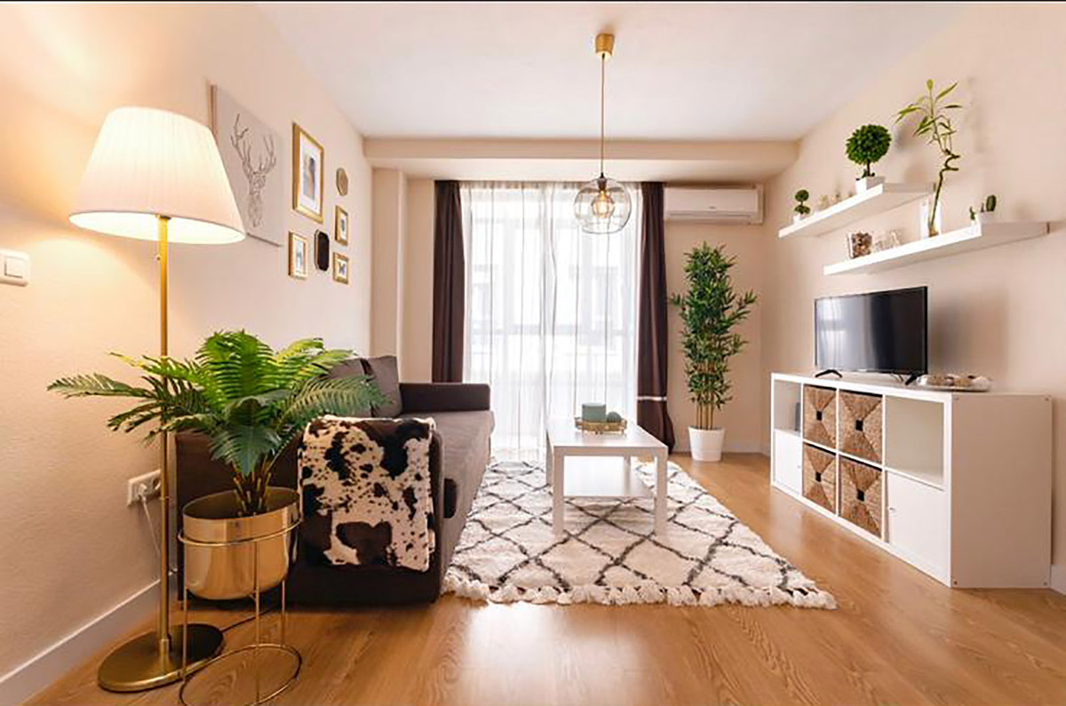 Middle Floor Apartment, Malaga historic Centre, Costa del Sol. 4 Bedrooms, 2 Bathrooms, Built 100 m²,Spain