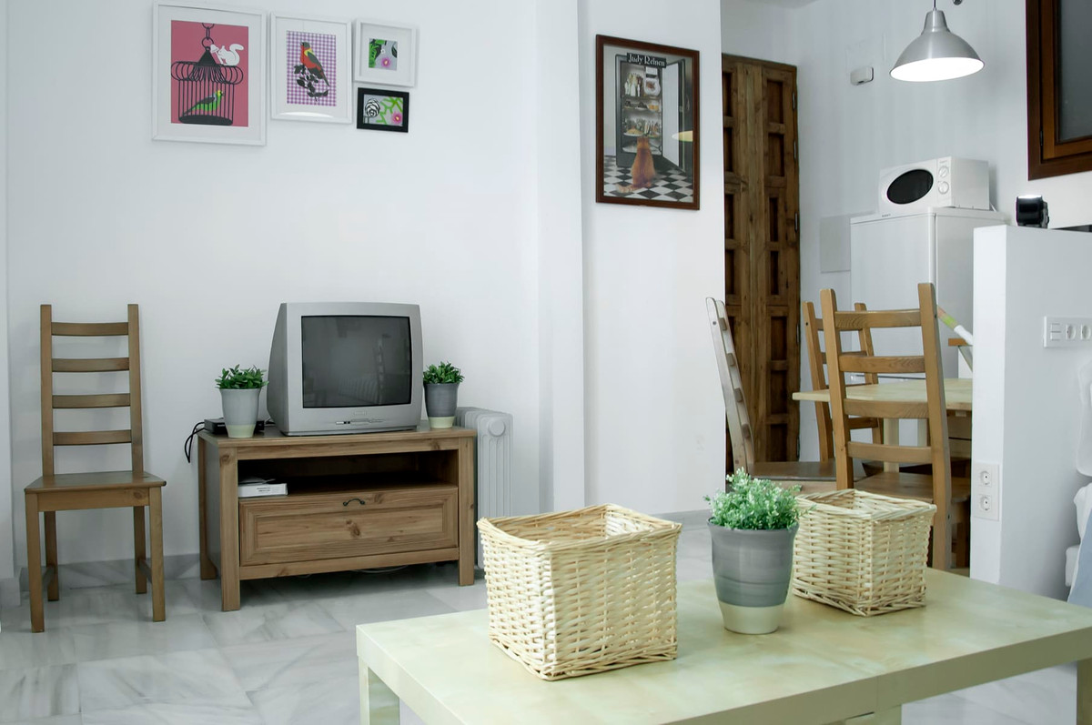 Middle Floor Studio, Malaga historic Centre, Costa del Sol. Built 34 m2;.  Setting : Town. Condition,Spain