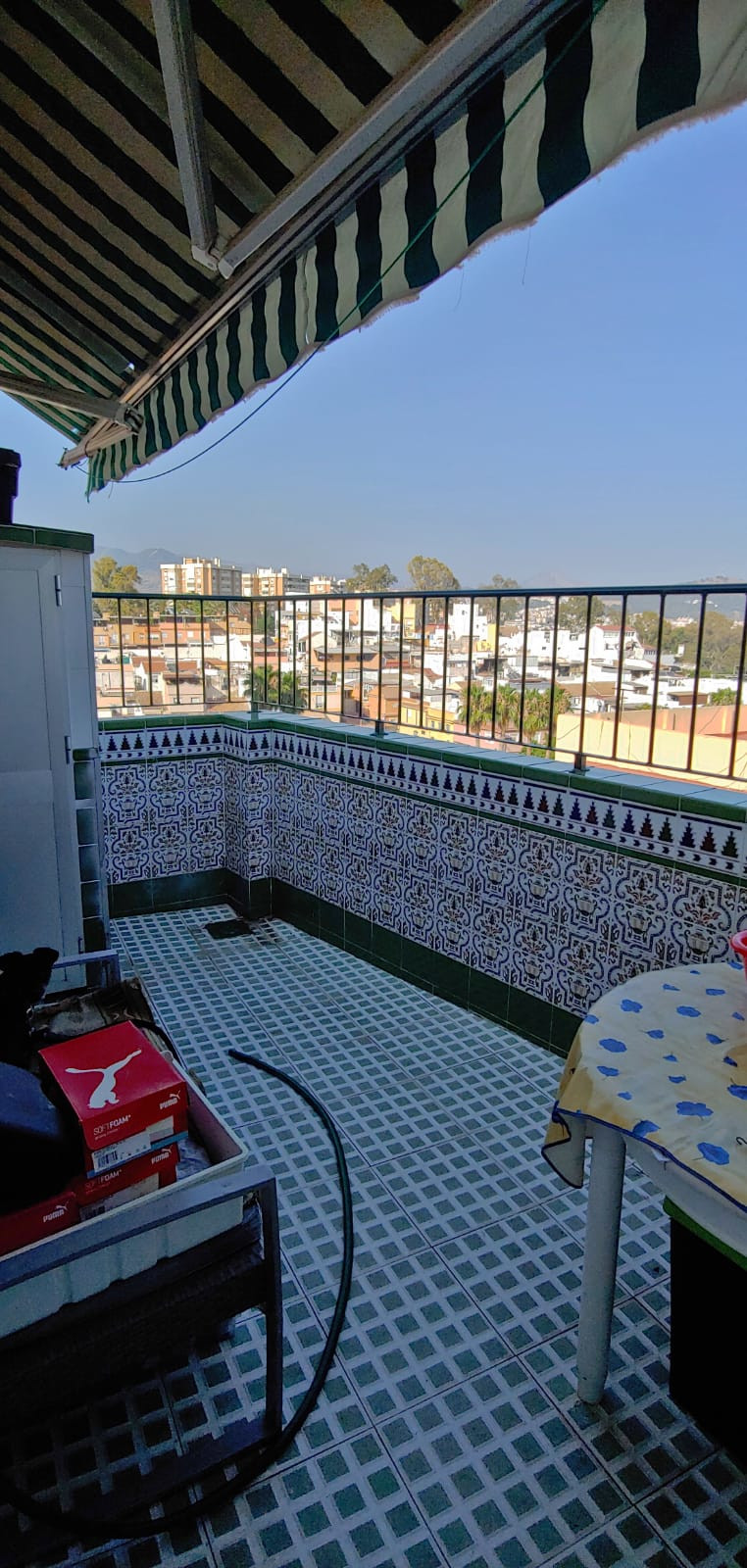 Penthouse terrace, Malaga Centre hospital civil area, 2 Bedrooms, 1 Bathroom, Built 57 m2;.  Setting,Spain
