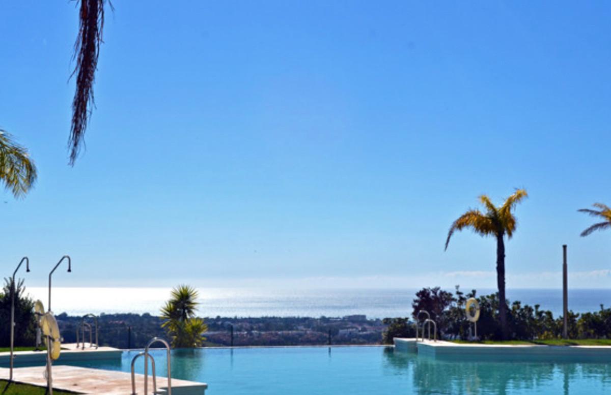 Beautiful apartment with amazing panoramic sea and coastal views, New Golden Mile, Benahavis.  Spaci,Spain