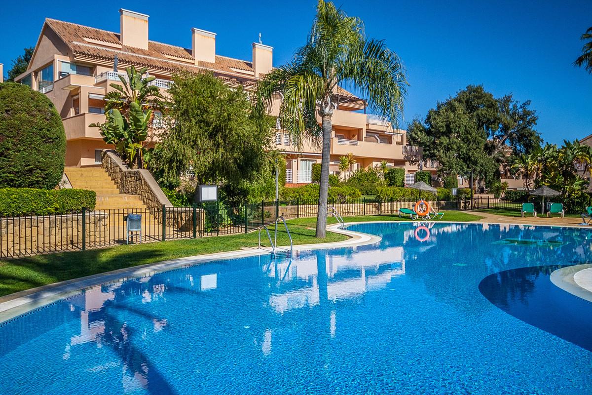 Bright and sunny duplex penthouse in the popular Jardines de Santa Maria Golf in Elviria. The entran,Spain