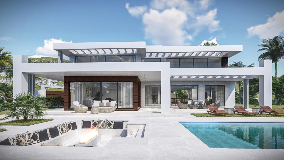 Detached Villa, Hacienda Las Chapas, Costa del Sol. 5 Bedrooms, 5 Bathrooms, Built 424 m², Terrace 1,Spain