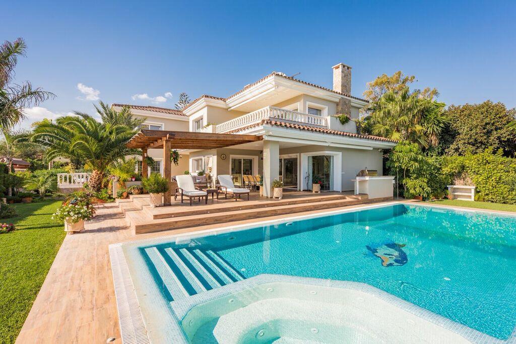 Detached Villa, Marbesa, Costa del Sol. 6 Bedrooms, 7 Bathrooms, Built 610 m², Terrace 320 m².  Sett,Spain