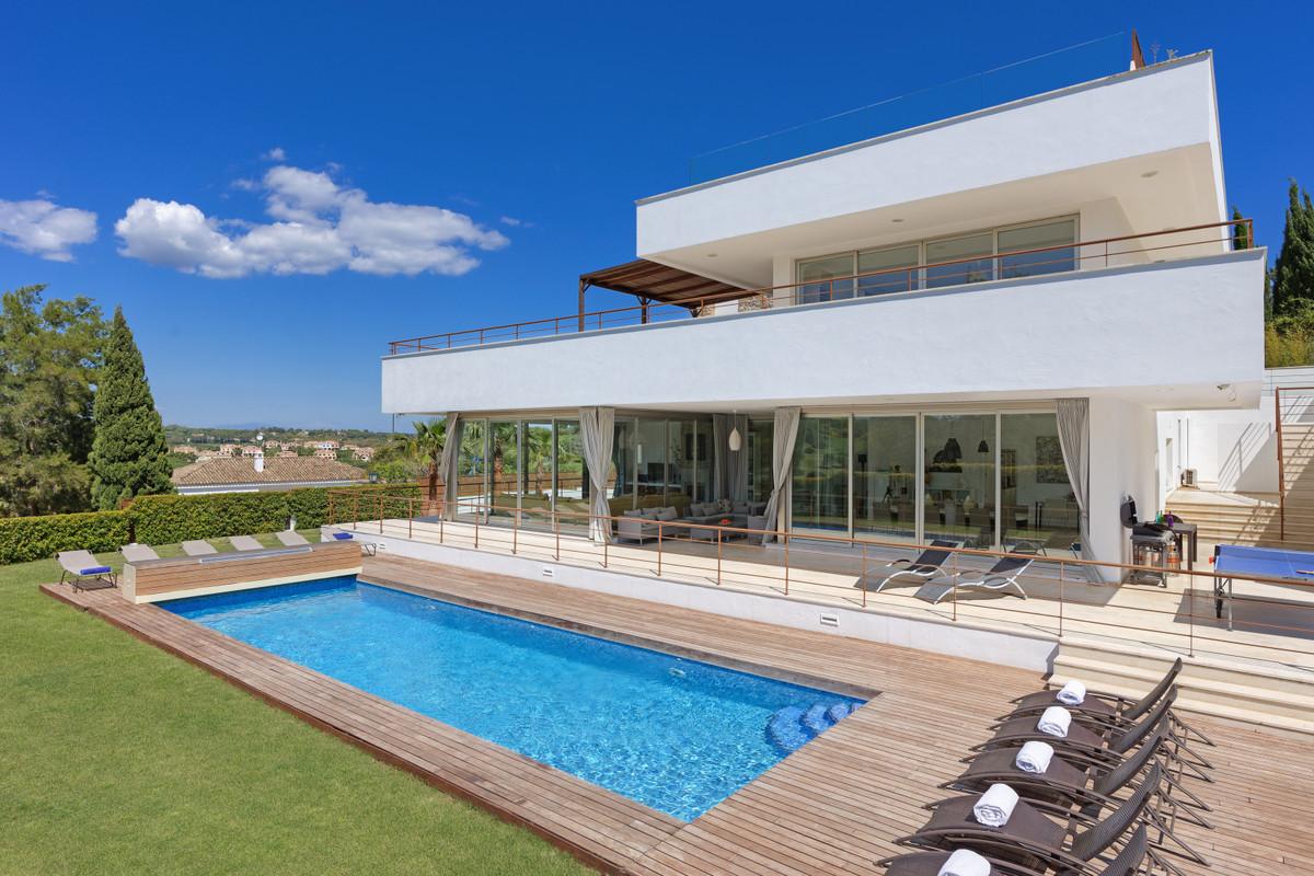 A truly Unique 7bedroom luxury villa in the desirable location of Sotogrande, in brief the villa of,Spain