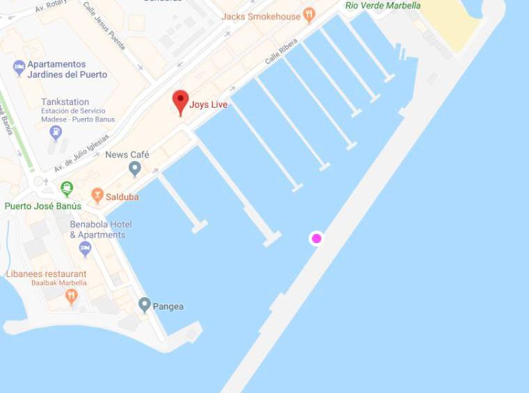 Amarre en alquiler en Puerto Banús
