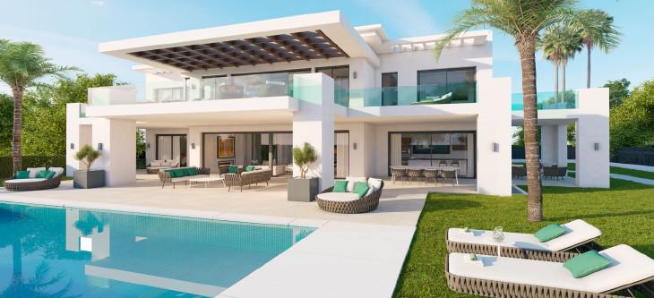 Detached Villa, Marbella, Costa del Sol. 4 Bedrooms, 5 Bathrooms, Built 501 m², Terrace 205 m².  Bra,Spain