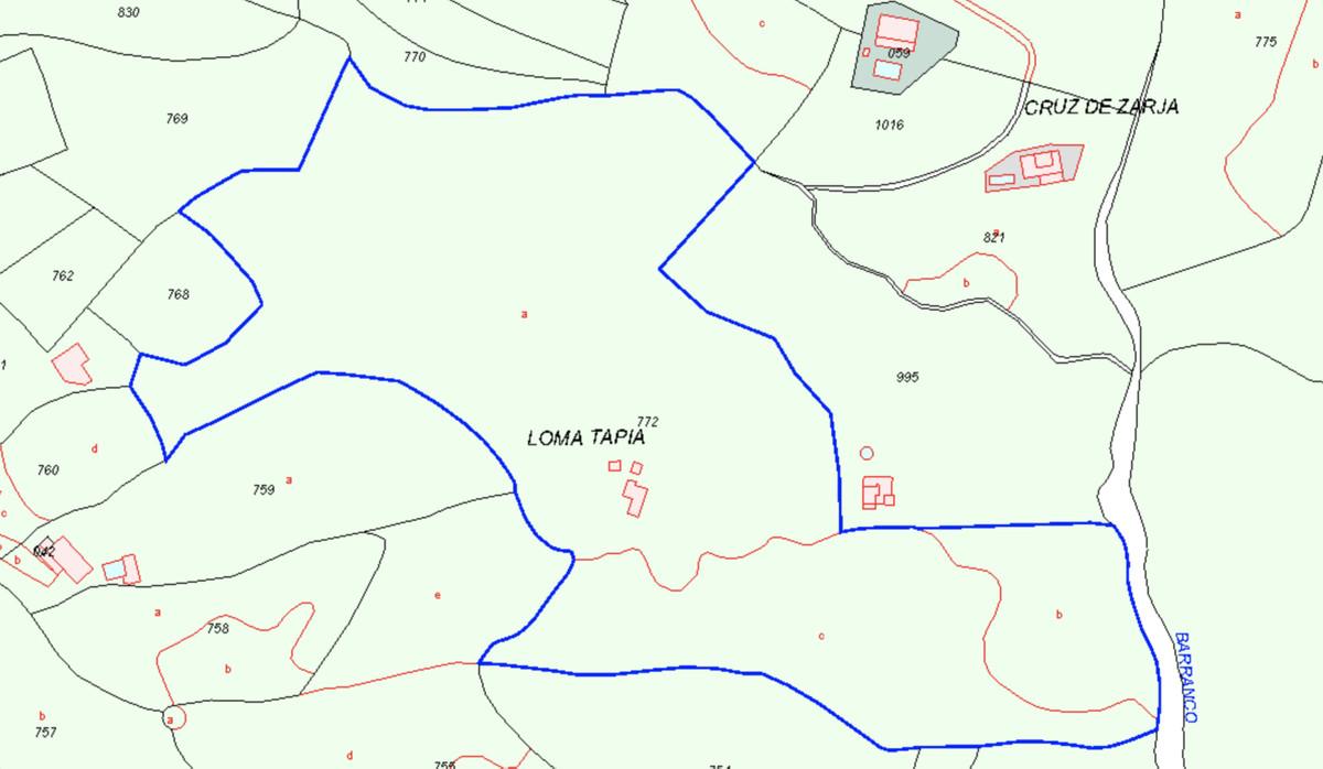 Land with Ruin, Competa, Costa del Sol East. Garden/Plot 45129 m².  Orientation : South. ViSpain