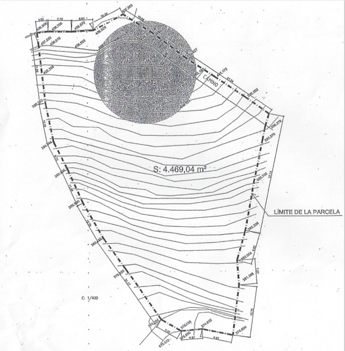 Land with Ruin, Competa, Costa del Sol East. Garden/Plot 4469 m².  Orientation : South. Vie,Spain