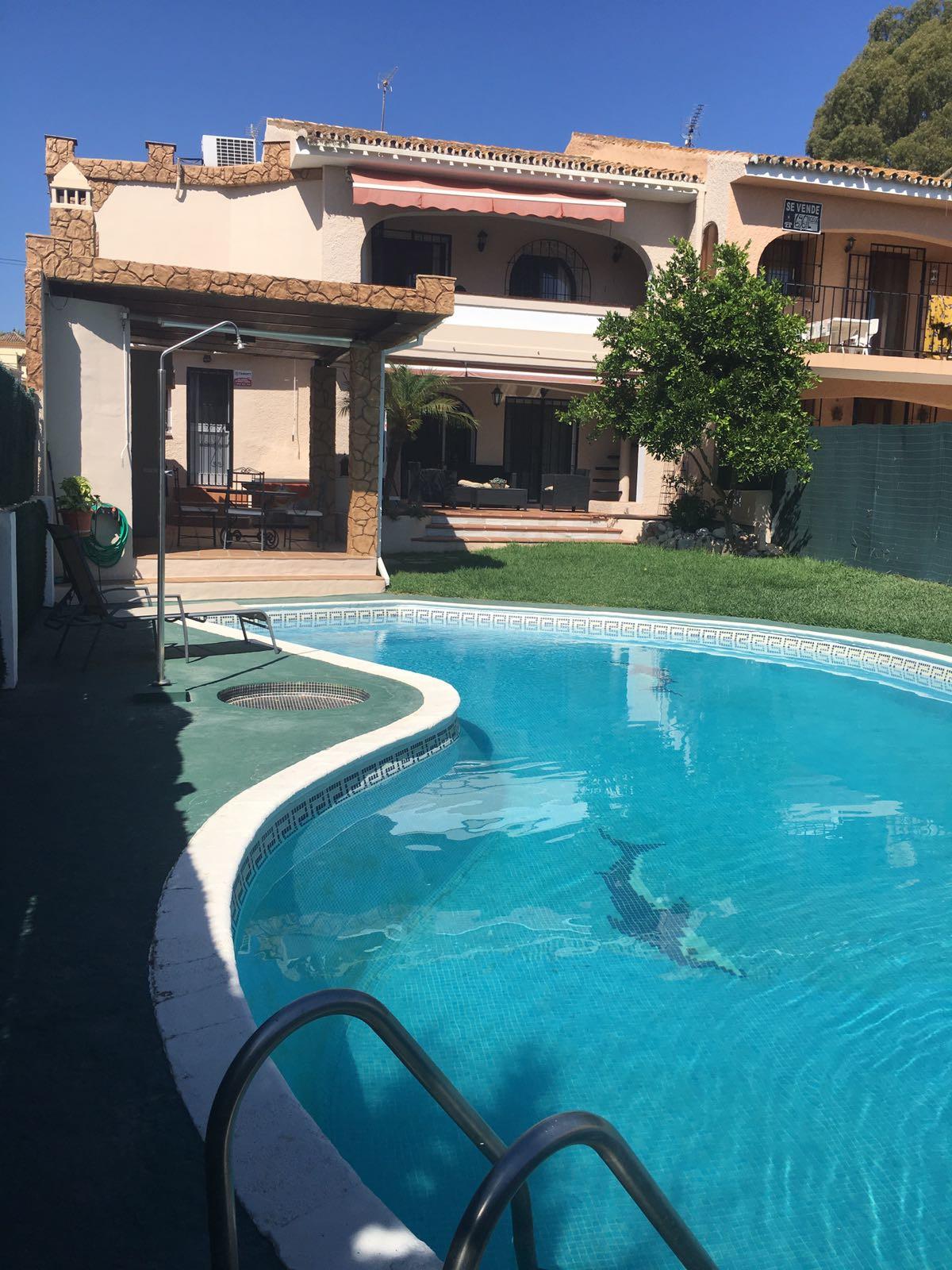 LARGE SEMI DETACHED HOUSE WITH PRIVATE GARDEN IN NUEVA ATALAYA, ESTEPONA. For sale, spacious semi-de,Spain