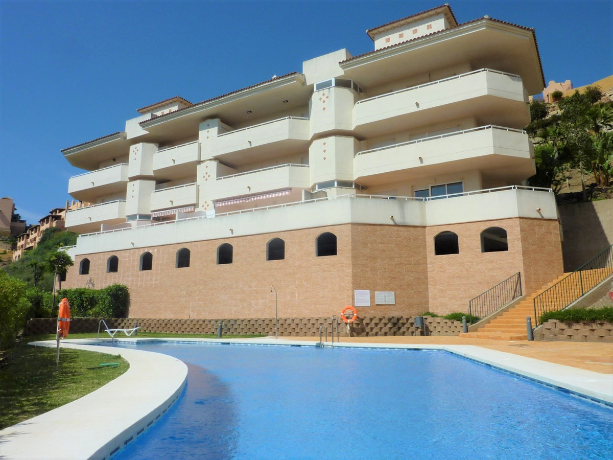 Nice and modern two bed and two bathroom apartment in the upper part of Calahonda in Mijas Costa wit,Spain