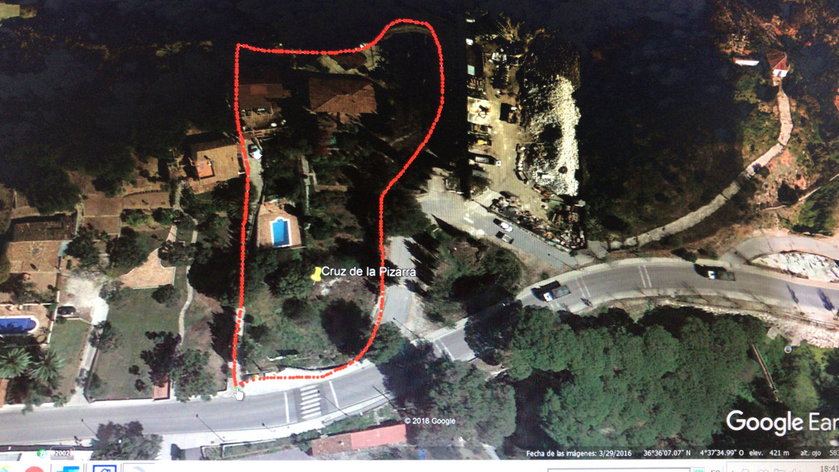 FANTASTIC ELEVATED and WONDERFUL BUILDING PLOT of 6000 m2  with LOVELY OPEN SEA VIEWS of the Mediter,Spain