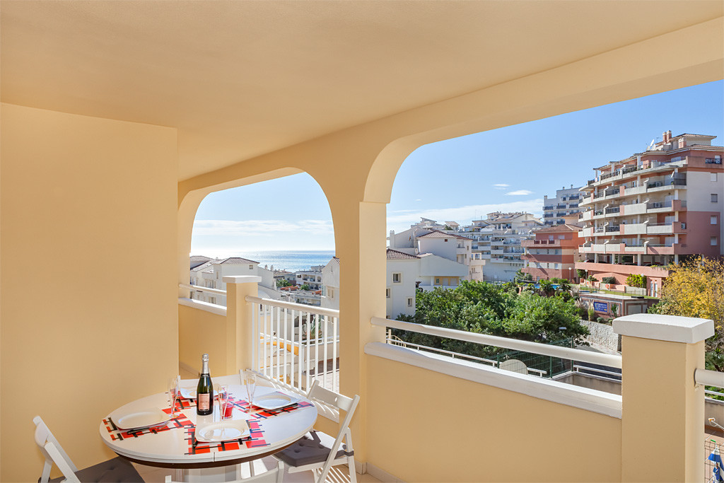 In Benalmadena (near Torremolinos, in the region of Malaga), in a secure residence with gardens and ,Spain