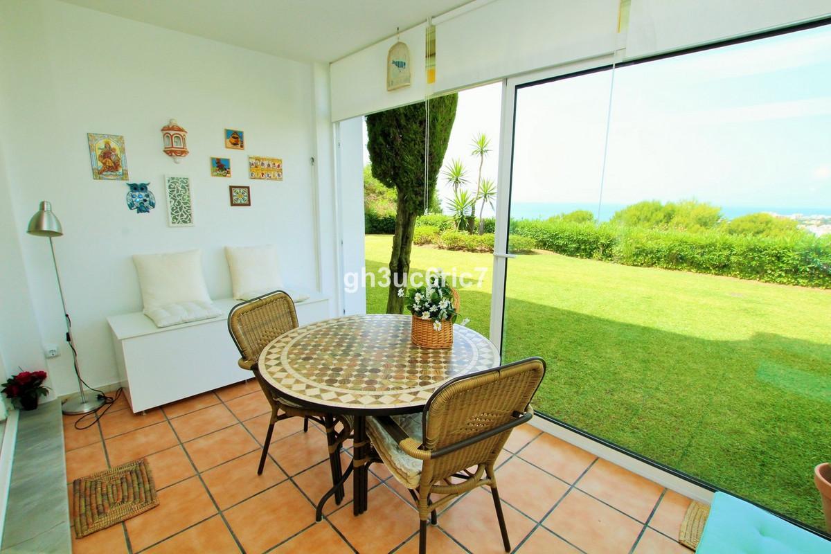 Beautiful 1 bedroom, 1 bathroom ground floor apartment, located in Miraflores with breathtaking sea ,Spain
