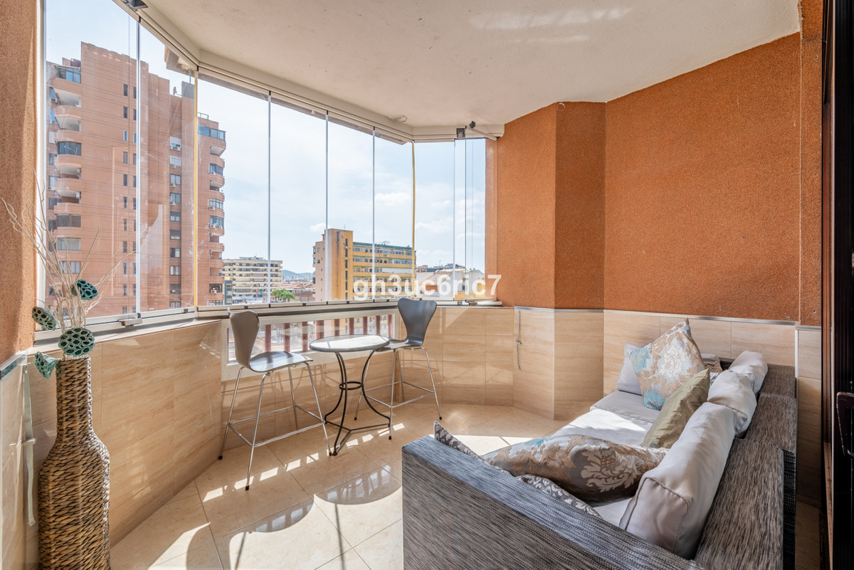 Completely renovated Studio Apartment located in Hotel Las Palmeras on the beachfront by the Fuengir,Spain