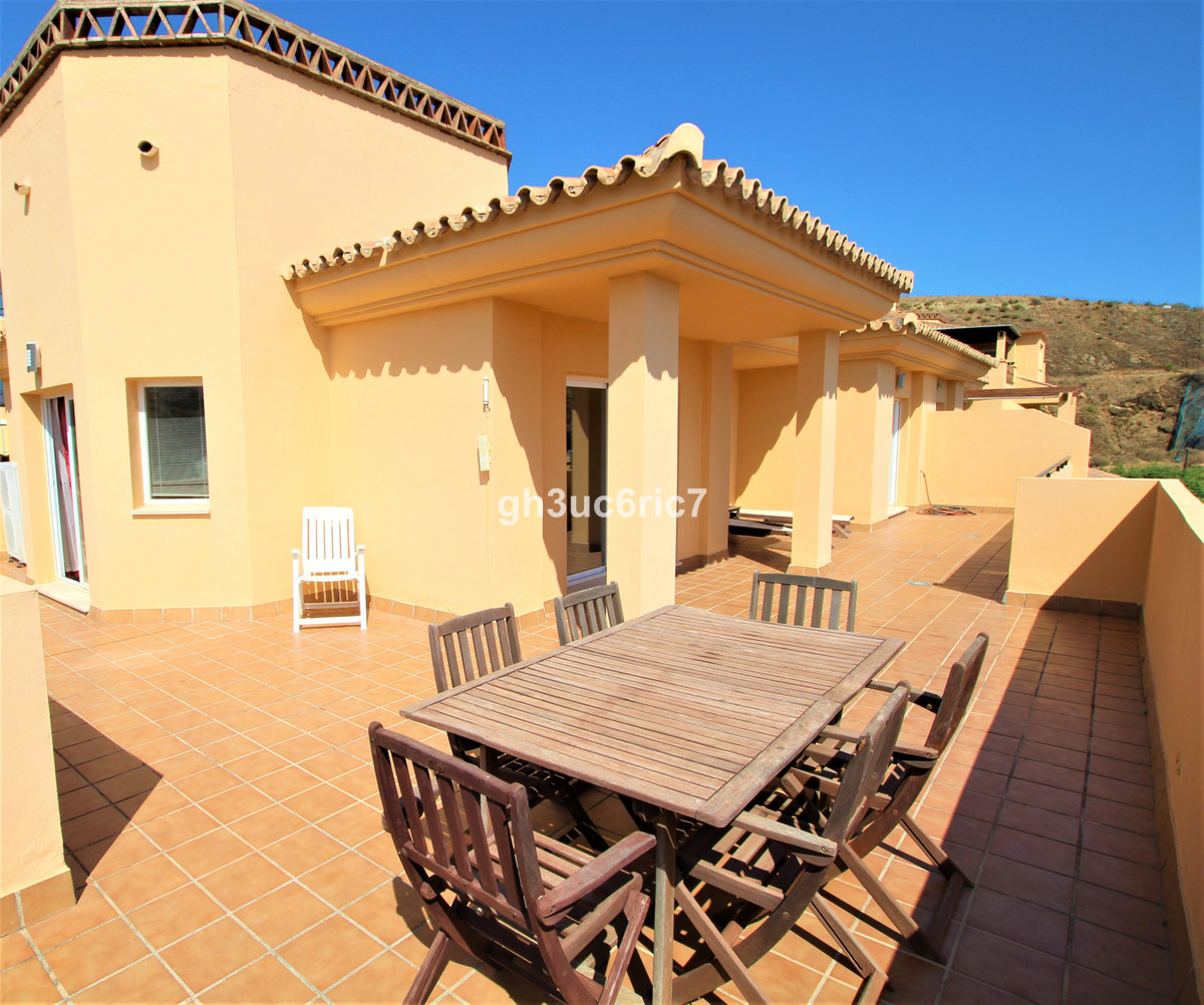 Lovely 1 level corner penthouse with a huge wrap around terrace facing south with amazing sea views.,Spain