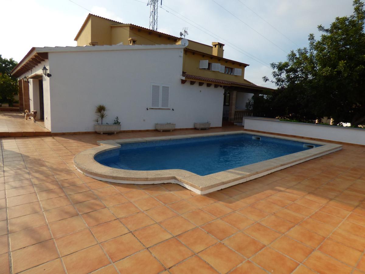 Detached Villa, Marratxi, Mallorca. 5 Bedrooms, 3 Bathrooms, Built 260 m², Terrace 200 m², Garden/Pl,Spain