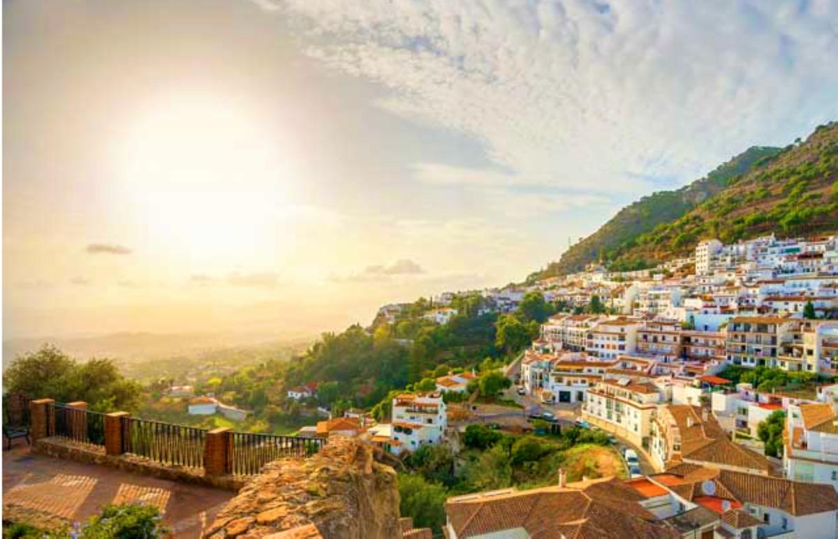 Land, Mijas, Costa del Sol. Garden/Plot 30639 m².  It is situated in Osunilla Mijas Pueblo, (2 min f,Spain