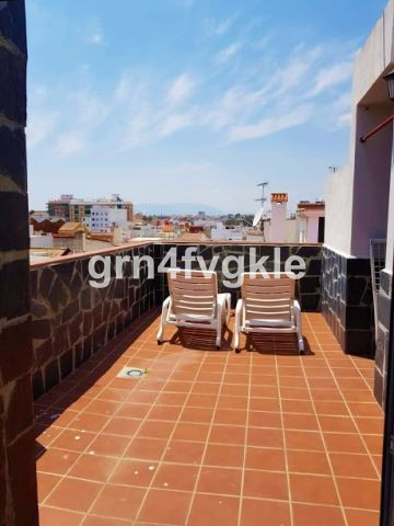 Penthouse, Malaga Centro, Costa del Sol.. 1.3 km historical center 2 Bedrooms, 1 Bathroom, Built 50 ,Spain