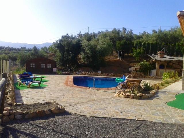 Finca - Cortijo, Riogordo, Costa del Sol East. 3 Bedrooms, 1 Bathroom, Built 141 m², Terrace 37 m², ,Spain