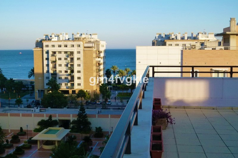 Penthouse, Malaga, Costa del Sol. 4 Bedrooms, 2 Bathrooms, Built 167 m2- Terrace 102 m2 Spectacular ,Spain