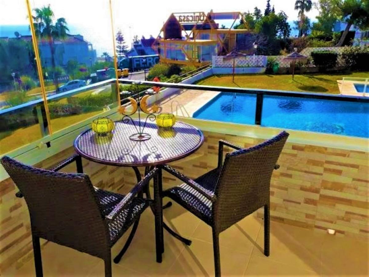 Middle Floor Apartment, La Cala de Mijas, Costa del Sol. 1 Bedroom, 1 Bathroom, Built 43 m², Terrace,Spain