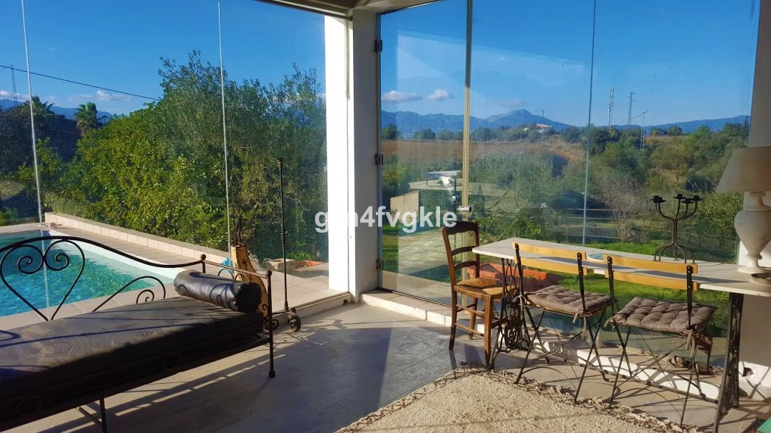 house 1 km from coin in the upper part (near school and institute), 20 km from Marbella and 35kms fr,Spain