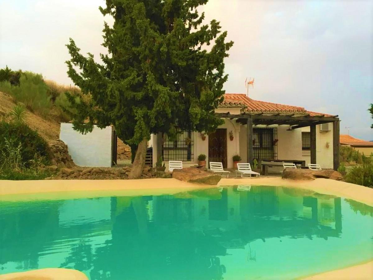 Finca - Cortijo, Almogia, Costa del Sol. 2 Bedrooms, 1 Bathroom, Built 100 m², Garden/Plot 5200 m². ,Spain