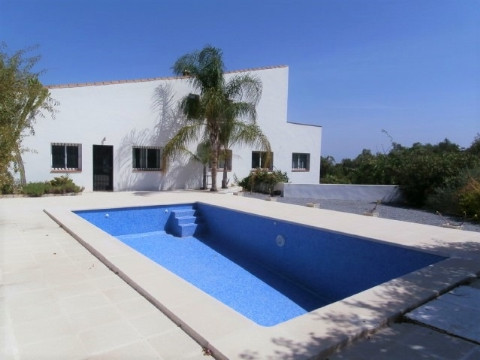 Spacious Country house with panoramic views across the  Mediterranean and the Sierra Nevada. All day,Spain